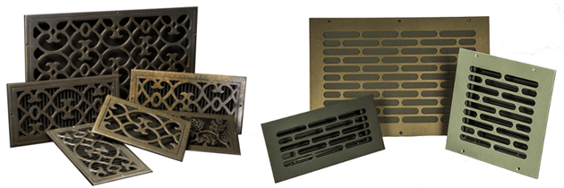 metal registers and vent covers