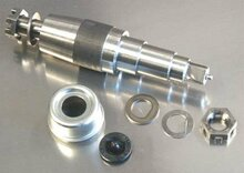 """6000# 1 3/4  X 1 1/4""""  Replacement Spindle For Tie Down Eliminator Torsion Axles"""