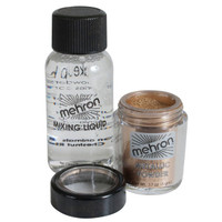 MEHRON GOLD METALLIC POWDER WITH MIXING LIQUID