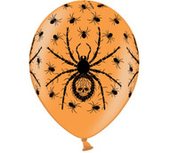 Halloween spider balloons