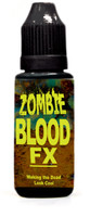 Fake Zombie blood