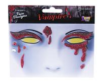 creepy vampire makeup