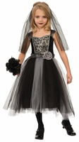 gothic bride child costumes
