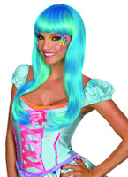 womens candy wig