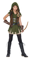 Girls Robin Hood fancy dress
