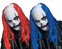 clown wig halloween
