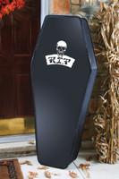Halloween coffin prop