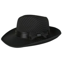 pinstripe hat