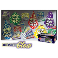 NEW YEARS GLOW IN THE DARK KIT FOR 10