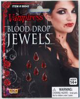 Vampire costume makeup