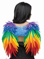Gay pride wings