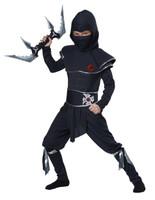 Ninja fancy dress costume