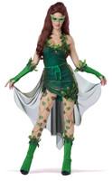 Sexy poison ivy fancy dress