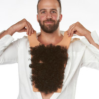 Hairy chest costume