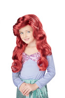 Little mermaid costume wig