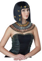 Egyptian costume wig