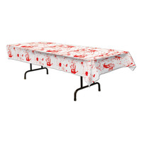 Halloween bloody tablecloth