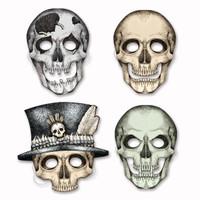 cardboard Halloween masks