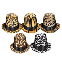 ANIMAL PRINT HIGH HATS
