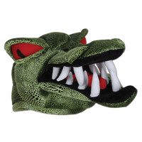 PLUSH CROCODILE HAT
