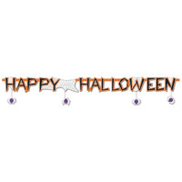 JOINTED HALLOWEEN BANNER
