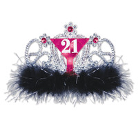 LIGHT UP 21ST TIARA