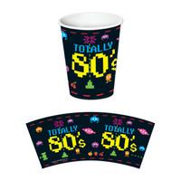 80's BEVERAGE CUPS