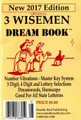 3 Wise Men Dream Book Pocket Size 2017