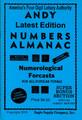 Andy's Number Almanac 4 Digit Book