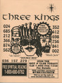 Three King's 3 & 4 Digit 2014