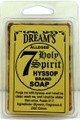 "7 Holy Hyssop Glycerin Soap & Amulet ""CLOSEOUT"""