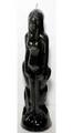 "Black Woman Image Candle 8"""