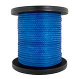 """Amsteel Blue 9/16"""" Synthetic Rope Bulk Reel - 36,500 lbs"""