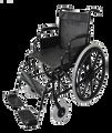 PQUIP 20DT WHEELCHAIR - 50CM WIDE SEAT