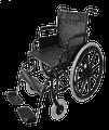 PQUIP 22DT WHEELCHAIR - 55CM WIDE SEAT