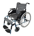 PQUIP 22 LIGHTWEIGHT HEAVY DUTY WHEELCHAIR