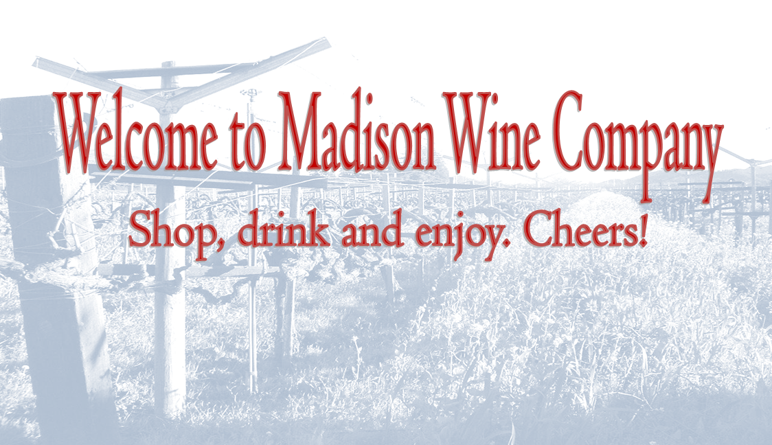 Welcome to Madison Wine Co.!
