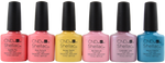 CND Shellac 6 pc CND Shellac Flirtation Collection