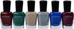 Zoya 6 pc Urban Grunge One Coat Creams Collection