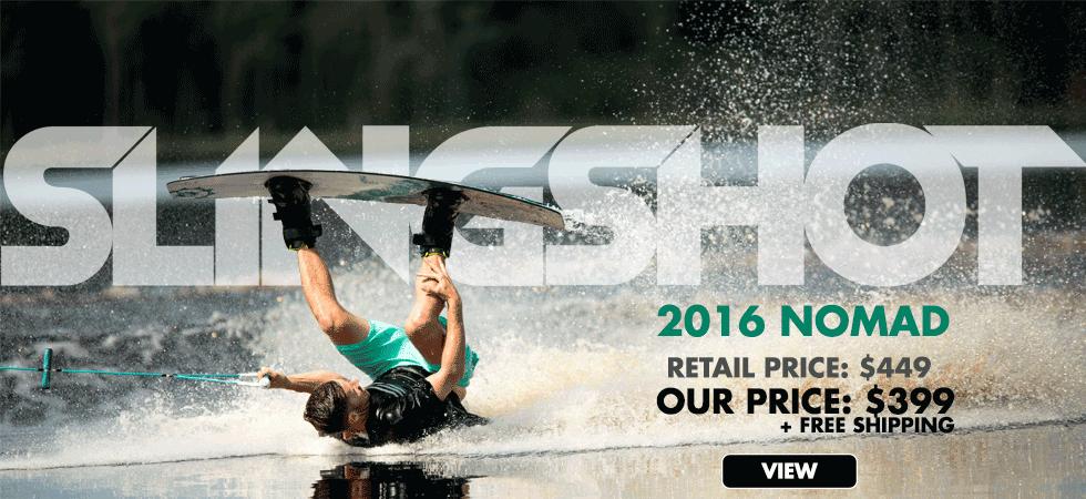 2016 Slingshot Nomad just $399 at WakeAction.com