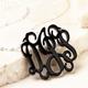 Intertwined monogram