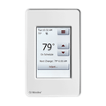 "OJ Electronics floor heating touch screen thermostats are easy to use and install.  It is recommended that whenever possible that a 4"" utility box with plaster ring be used when heating loads exceed 2000W as a means of extending thermostat longevity."