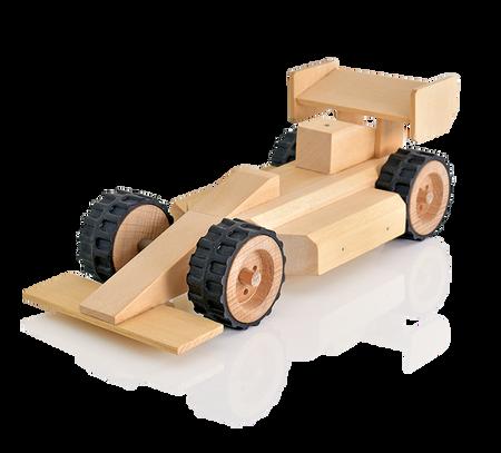 BuildMe Racing Car Fast Kids Woodwork Building Kits