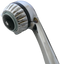 Chrome shower head, water saving 2.0 gpm model, handheld model with 3 luxurious shower settings.