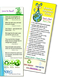 Earth day themed bookmark