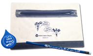 Water Pencil Pouch Case Kit | Eraser & Pencil Conservation Learning tools