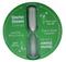 Custom 5 minute green shower timer.