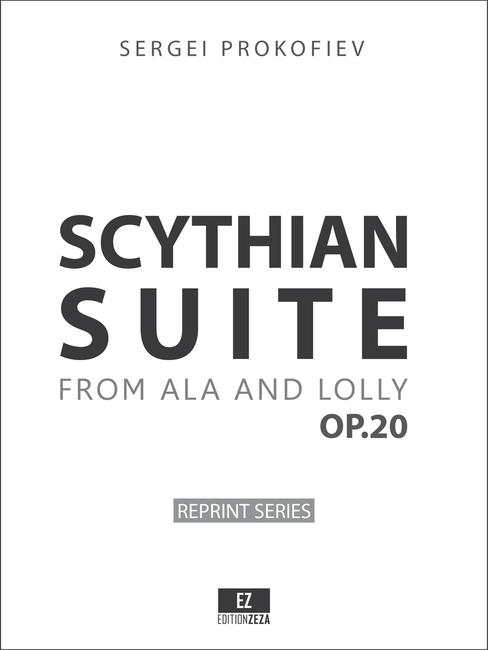 Prokofiev - Scythian Suite Op.20 Score & Parts