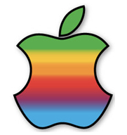 Hackingtosh Retro Apple Sticker
