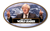 Boris Johnson for World Leader Sticker